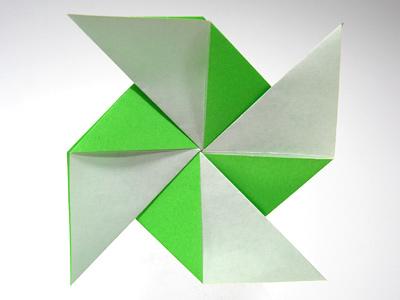 クリスマス 折り紙 折り紙 風車 作り方 : divulgando.net