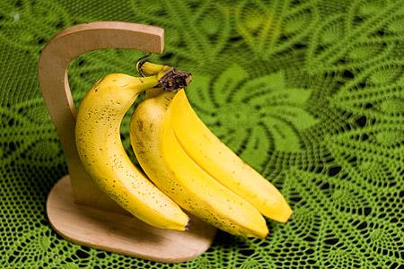 バナナスタンドとバナナ