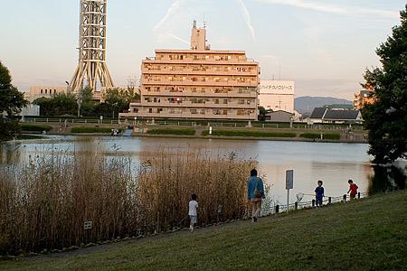 明徳公園の風景