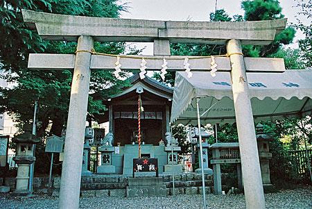 名古屋晴明神社内部