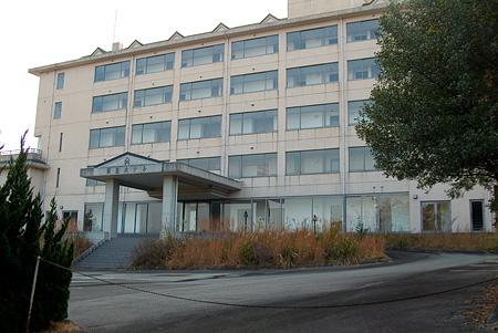閉鎖した賢島ホテル