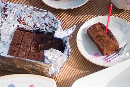 セカンドチャンス・チョコケーキ