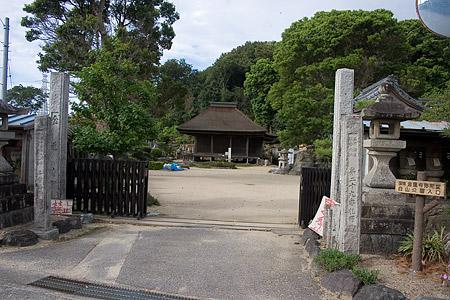 金蓮寺入り口