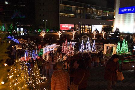 名古屋駅の冬の光景-10
