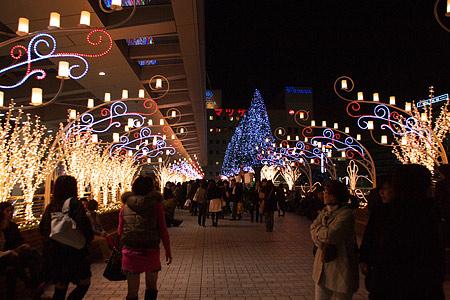 名古屋駅の冬の光景-11