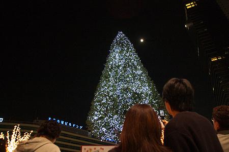 名古屋駅の冬の光景-12