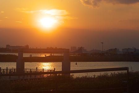 葛西臨海夕から夜-1