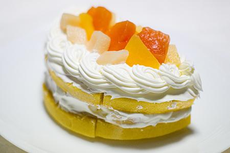 初ショートケーキ