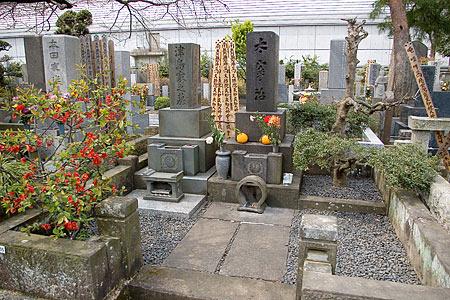 太宰治墓石