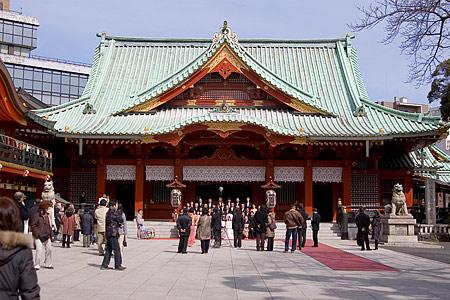 神田明神の社殿