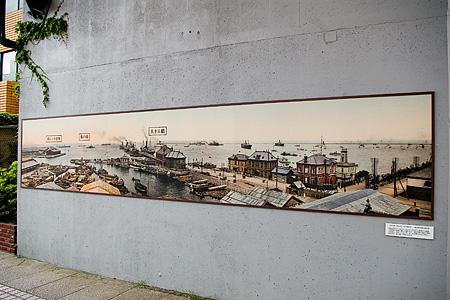 かつての横浜港