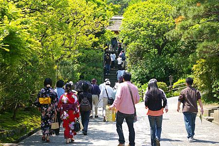 鎌倉の人のいる風景-1