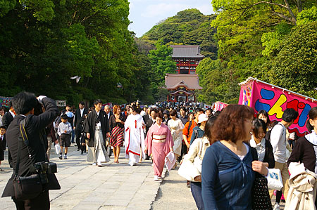 鎌倉の人のいる風景-2