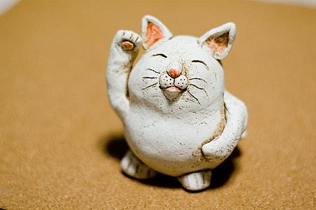 猫土鈴-1