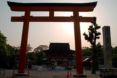 津島神社鳥居