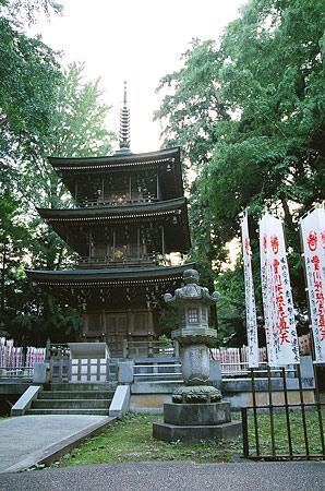 豊川稲荷三重塔