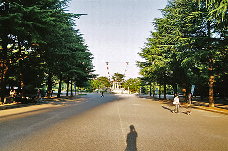 鶴舞公園スケッチ-9