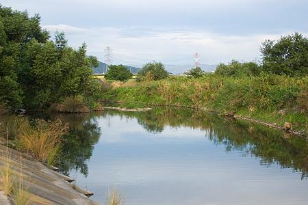 庄内川河原風景-1