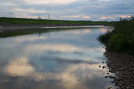 庄内川河原風景-5