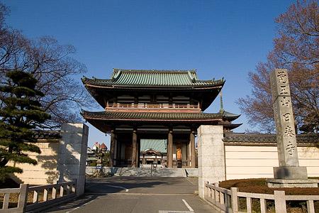 日泰寺門前