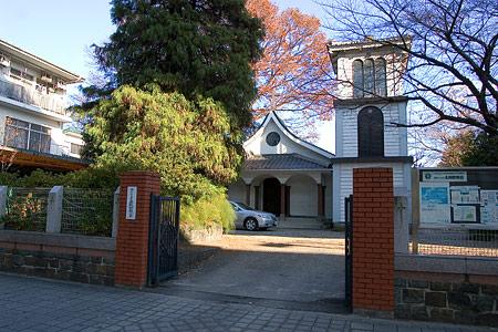主税町教会入り口