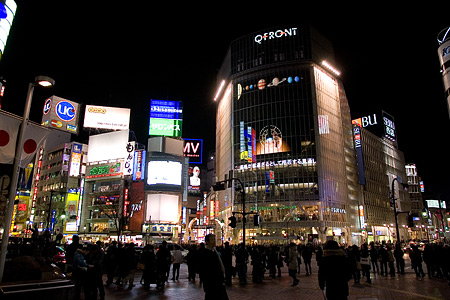 渋谷の夜-1