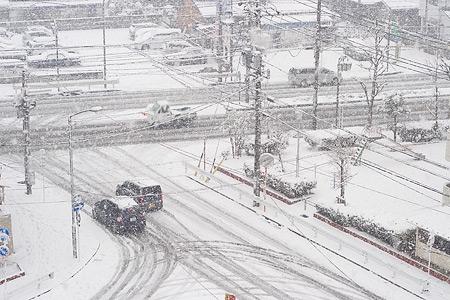 雪の名古屋-8