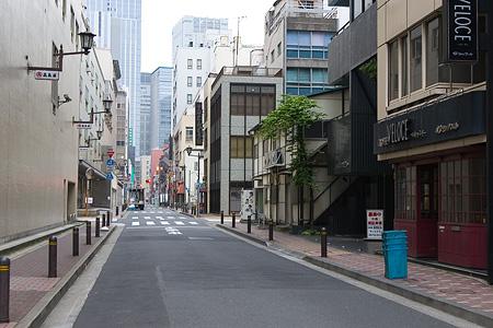 早朝東京-4