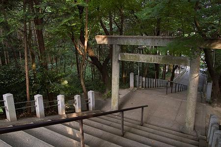 多度神社参道階段