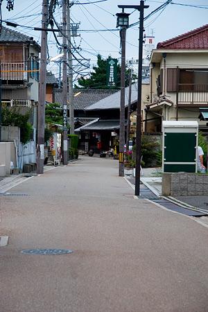 旧街道の面影