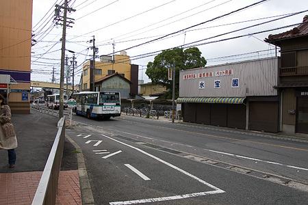 河和駅前風景