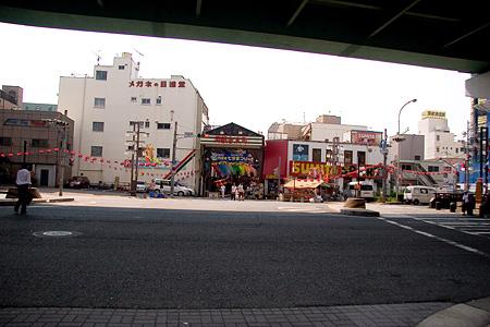 円頓寺商店街と江川線