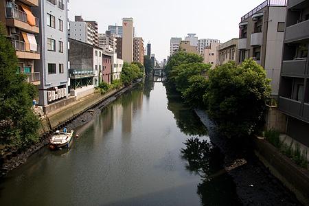 五条橋から見る堀川の風景