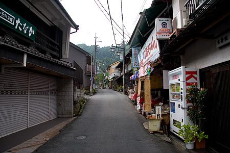 長谷寺門前の町並み風景