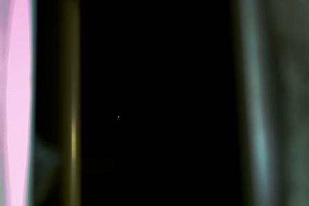 小窓からの火星