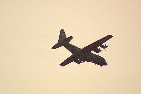 自衛隊の飛行機