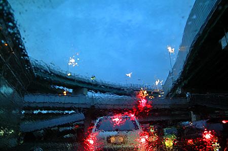 今日も天気雨