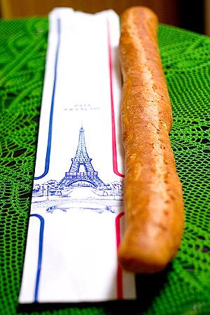 久々にフランスパン