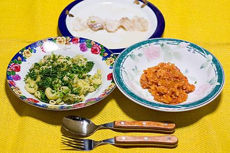 トリノオリンピック記念サンデー料理