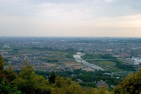 東谷山からの眺め
