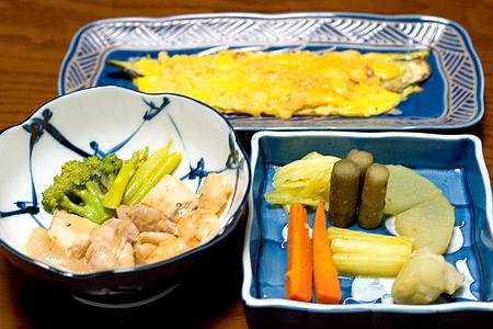 野菜サンデー料理