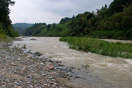 泥水櫛田川