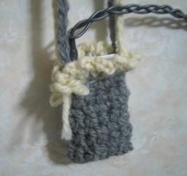 毛糸で、iPod入れ、作ってみた。その2