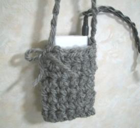 毛糸で、iPod入れ、作ってみた。