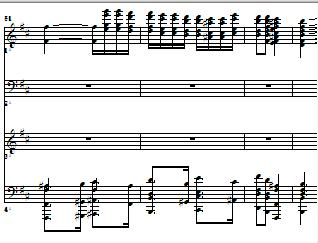 ブラームス:ハンガリー舞曲(4手ピアノ)をMIDIで作ってみました♪