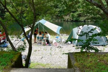 四万十川天満宮前キャンプ場