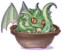「竜と鍋が好きな」岡田   りゅうなべ絵:ちま