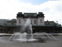 冬の門司港駅