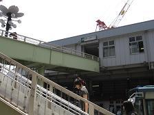 駅から・・・(武蔵小金井駅)