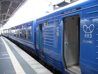 883系・青いソニックに増備車